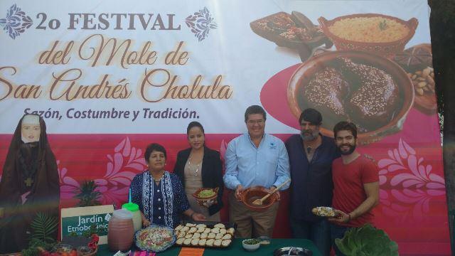 Segundo Festival del Mole Poblano en San Andrés Cholula